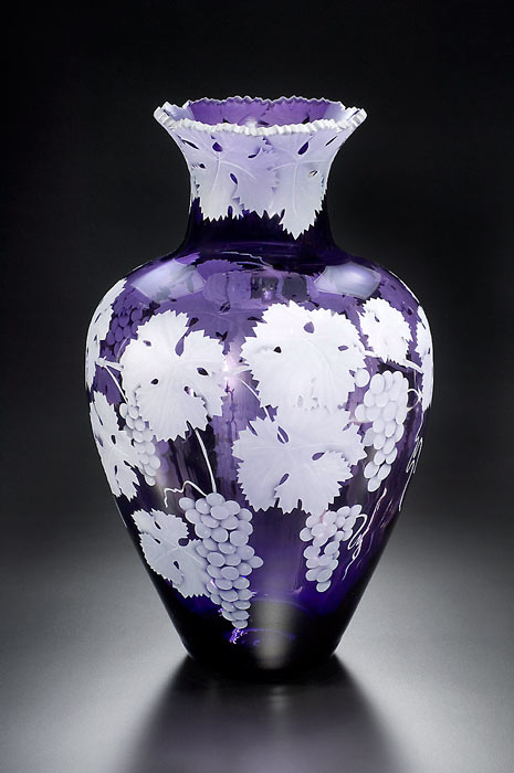 Cabernet Grapes SOLD OUT  Can possibly have one custom made art glass by Cynthia Myers